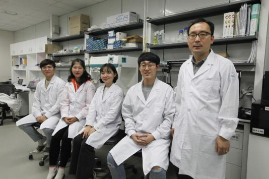 DGIST has a Joint R&D Agreement with Ahn-Gook Pharmaceutical 이미지
