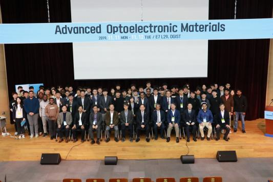 『DGIF 2019_Advanced Optoelectronic materials 』 개최 이미지